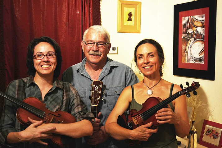 This month only, Contra dance in Clarkdale will be held on the 4th Saturday: Feb. 24. The featured band will be Under the Bridge, featuring Sonja Whisman on fiddle and Ron Barton on guitar. (Courtesy Photo)