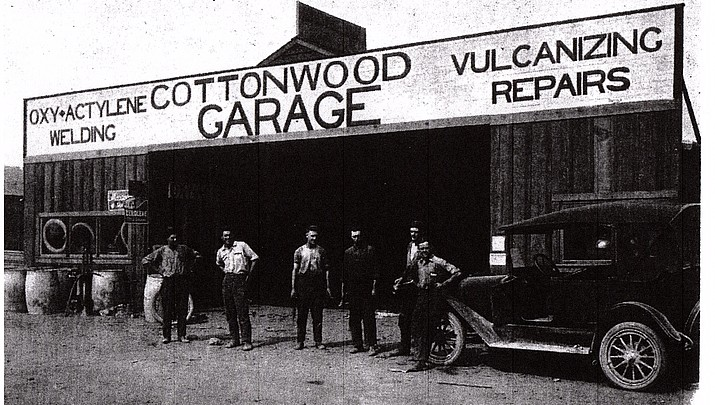 VERDE HERITAGE 1922-1923: WILLARD COTTONWOOD GARAGE