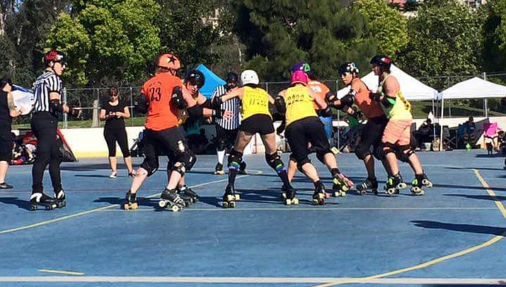 People & Places: Roller derby is fun, exciting
