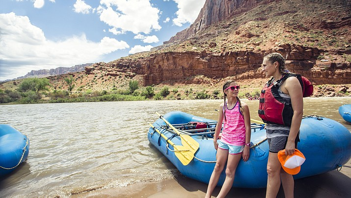 16 river running contracts for the  Colorado River in Grand Canyon announced