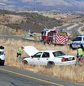 One dead in single-vehicle crash along Highway 69 in Dewey photo