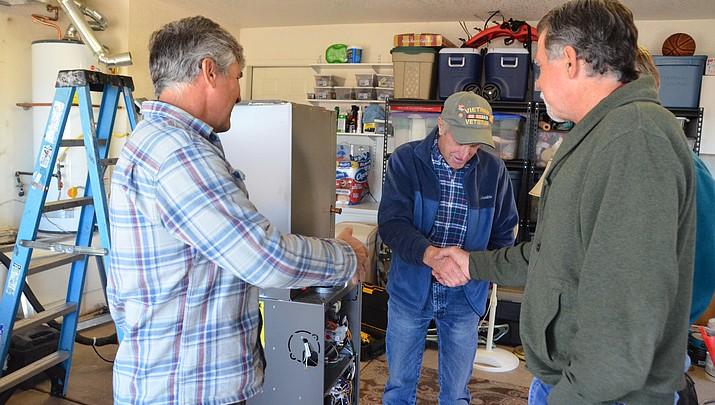 Verde Valley veteran gets cooling, heating upgrade thanks to Goettl's High Desert Mechanical