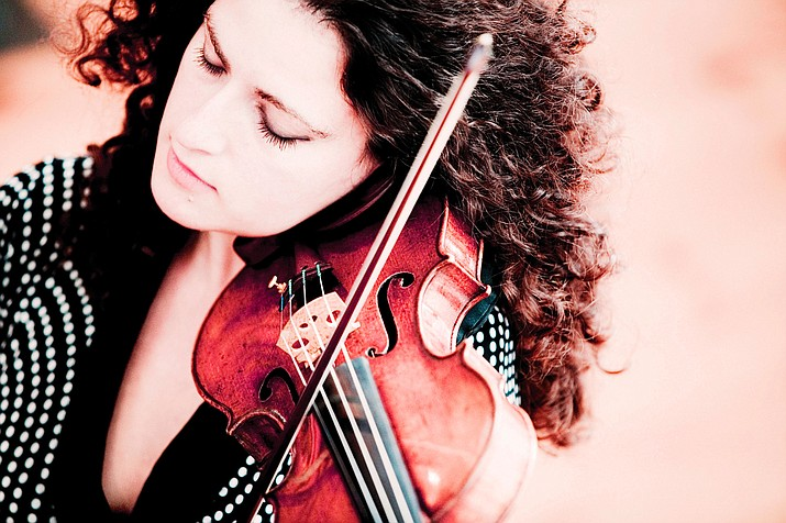 Violinist Liza Ferschtman is featured when the Phoenix Symphony returns to Prescott for a performance at 3 p.m. Sunday, Feb. 25, at the Yavapai College Performing Arts Center, 1100 E. Sheldon St., Prescott.