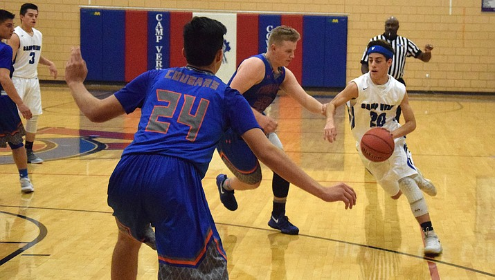 Collier named All-Central, Wall Coach of the Year for Camp Verde boys basketball