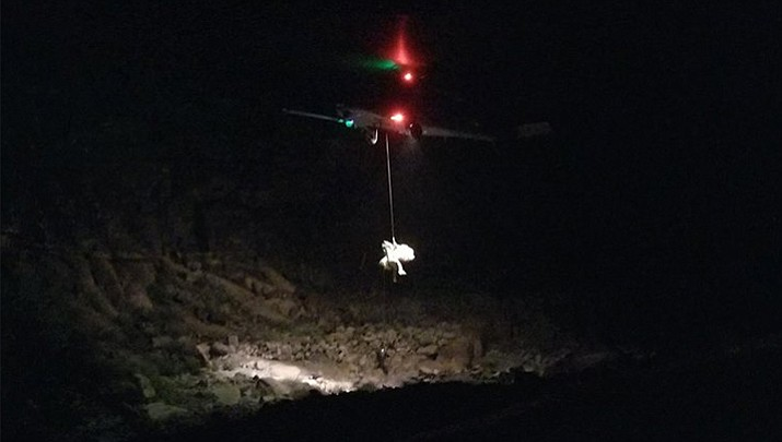 On the evening of Feb. 10, 2018 the Mohave County Sheriff's Office Search and Rescue received a call of a downed civilian helicopter near Grand Canyon West. The crash killed veterinary receptionist Becky Dobson, 27; her boyfriend Stuart Hill, a 30-year-old car salesman; and his brother, Jason Hill, a 32-year-old lawyer. The friends, who were in Las Vegas to celebrate Stuart Hill's birthday, opted to take a Grand Canyon sightseeing helicopter tour on tribal land. (Mohave County Search and Rescue)