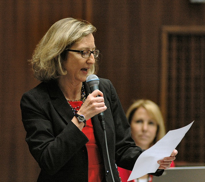 Rep. Kristen Engel sponsored legislation that is designed to help teachers pay for classroom expenses. (Capitol Media Services File Photo)