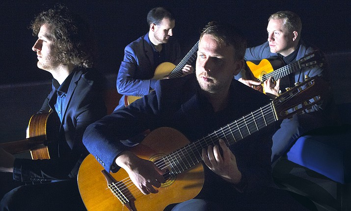 The Dublin Guitar Quartet will make its Sedona debut Sunday, March 11, at 2:30 p.m. at the Sedona Performing Arts Center, located 995 Upper Red Rock Loop Road on the campus of Sedona Red Rock High School.