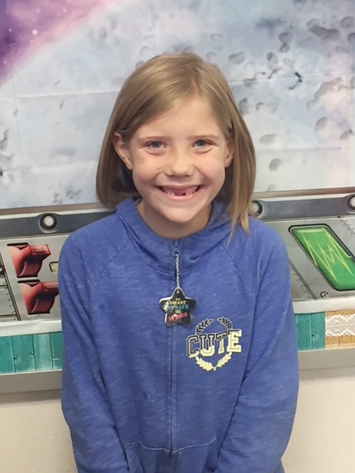 Elizabeth Summers is a second-grade student at Lake Valley Elementary.