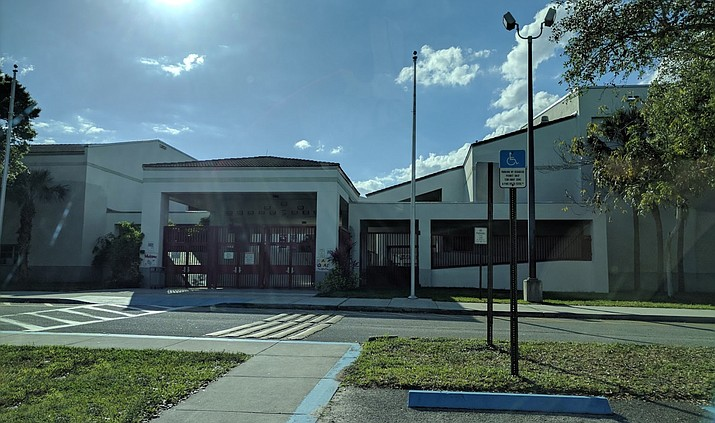 Marjory Stoneman Douglas High School in Parkland, Florida (Google Maps Street View image)