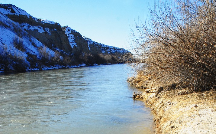 The San Juan River in northern New Mexico -- pictured in this Jan. 26, 2011 file photo -- is the focus of objections brought by an alliance of more than 20 community water and irrigation districts in their attempt to disqualify a state judge Tuesday, Feb. 27, 2018, and overturn a settlement with the Navajo Nation.