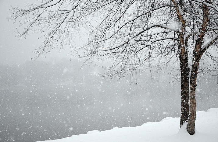 A winter storm is predicted to bring 4-6 inches of snow Tuesday night, Feb. 27.