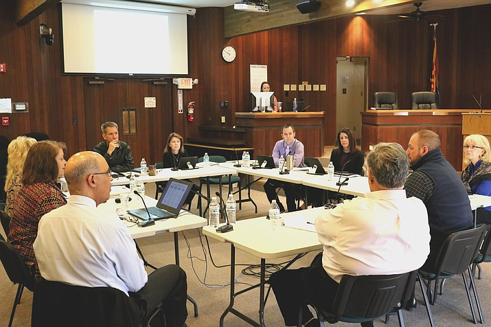 Council met Wednesday to discuss upcoming steps in the search for a city manager.