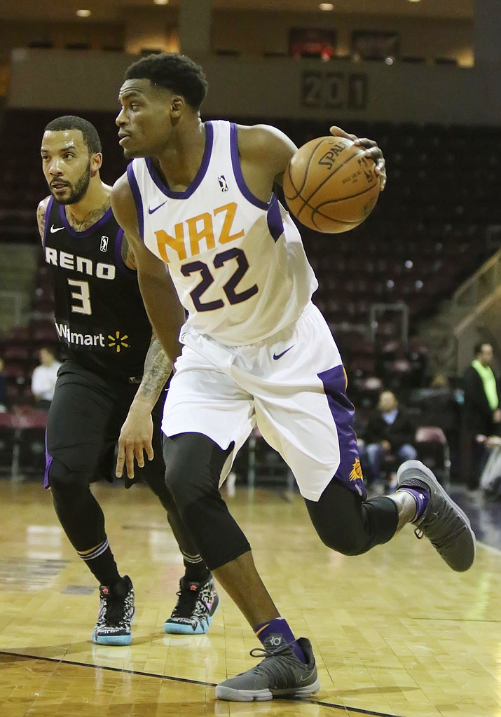 Northern Arizona Suns forward Danuel House (22).