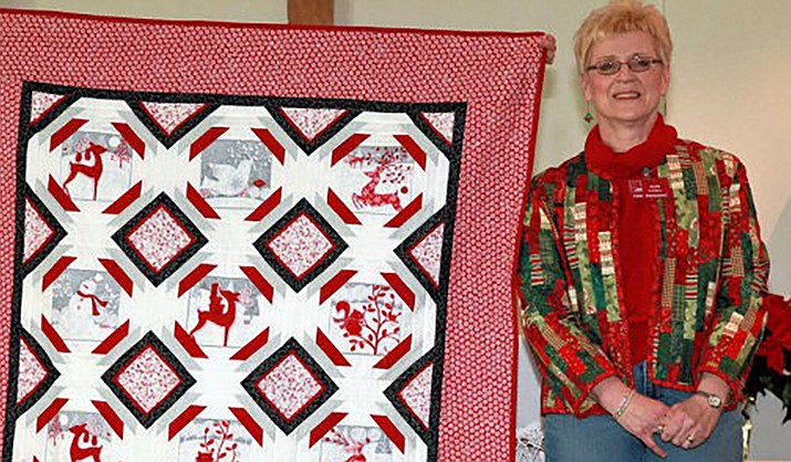 Joan Carrell, pictured in 2013. (Photo courtesy of Mountaintop Quilters Guild)