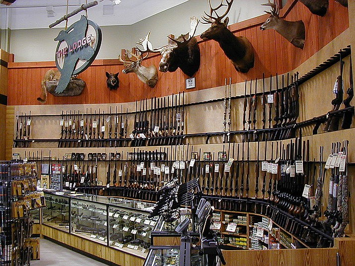 The Lodge section of a modern Dick's Sporting Goods store. (Courtesy photo)