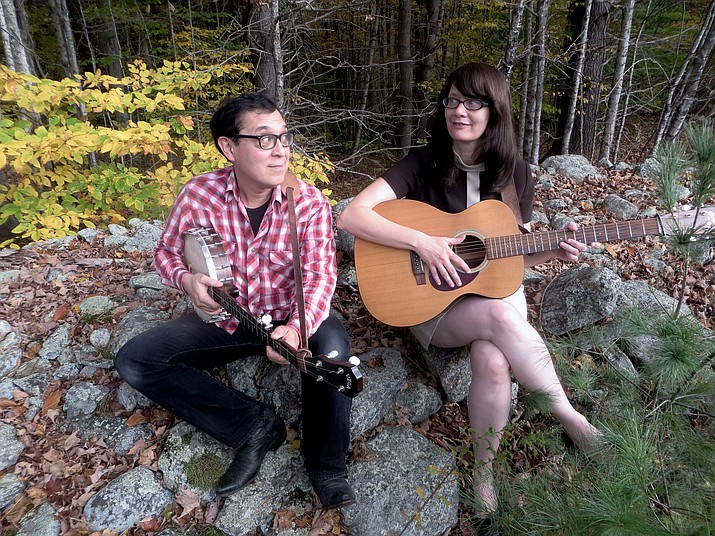 Ken Anderson and Rebecca Hall of Hungrytown will perform at the Prescott Public Library at 2 p.m. Sunday, March 4.