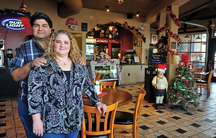 Dave and Sherry Marino will be shutting down their Downtown Greek Pita restaurant at 148 N. Montezuma on March 11.