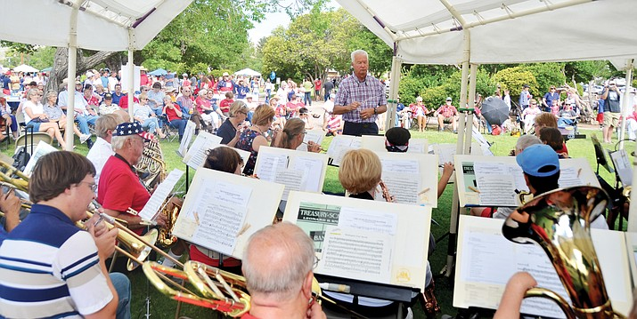 The Cottonwood Community Band will bring its music to you by presenting three concerts in three Verde Valley locations under the direction of Dr. Sy Brandon. (VVN/File Photo)