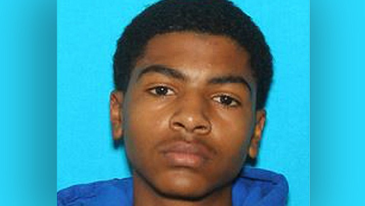 "This undated photo provided by Central Michigan University shows James Eric Davis Jr., who police identified as the shooting suspect at a Central Michigan University residence hall on Friday, March 2, 2018. Investigators said neither victim was a student and described the shooting as a ""family-type domestic situation."" (Courtesy of Central Michigan University)"