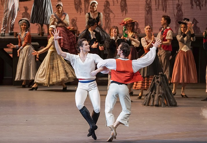 The Bolshoi Ballet displays an exuberance almost too enormous for the Moscow stage.
