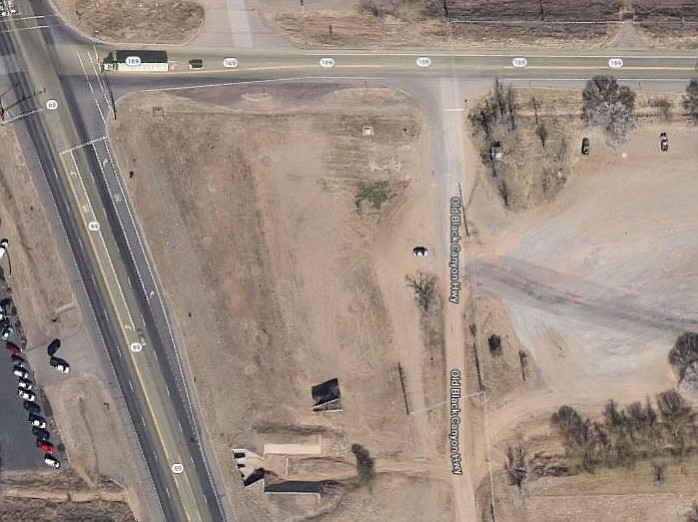 Giant Gas Station planned for the corner of highways 69 and 169.