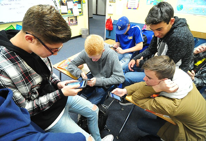 Cell phone use in schools is now the norm, with high schools in the tri-city area embracing the devices as tools - not trouble.
