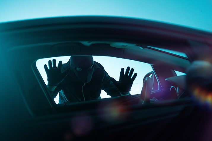 Residential areas are seeing a spike in thefts from vehicles. (Stock photo)