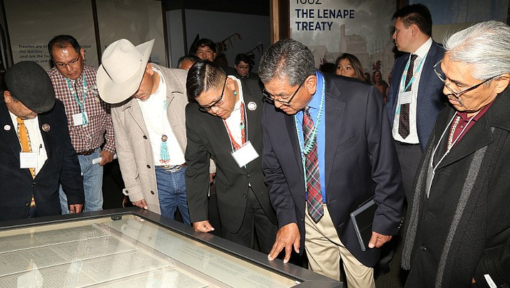 Revisiting history — Treaty of 1868 unveiled in D.C.