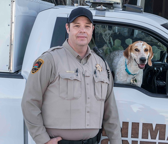 Tim Yogerst is Prescott Valley Police Department's new Animal Control Officer. (Prescott Valley Police Department/Courtesy)