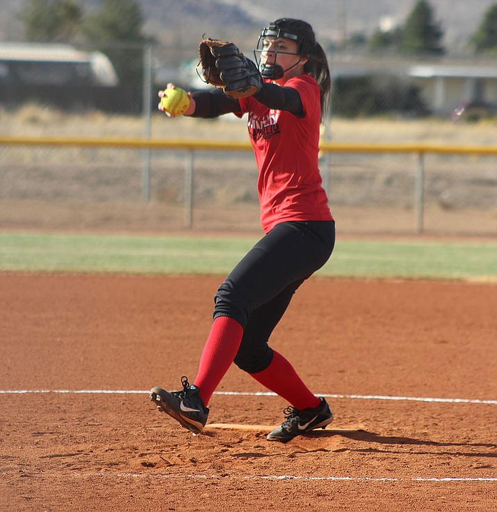 Ashley Sahawneh and the Lee Williams softball team dropped a 13-7 loss to Coconino Tuesday.
