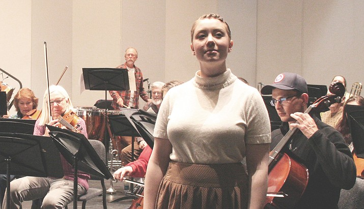 "Michellinda Audis will be the featured mezzo-soprano during the Yavapai College Symphony Orchestra's performance of Bizet's Habanera from ""Carmen"" at the college's Faculty Showcase on Sunday, March 11.(Yavapai College Music/Courtesy)"