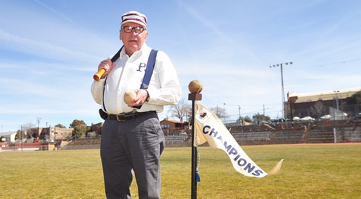 Mike Adrian is organizing an 1860's rules baseball game at Ken Lindley Field in Prescott at 11 a.m. Saturday, March 10. Teams from Phoenix and Illinois will be playing each other in the old school game.
