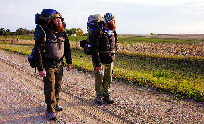 """Almost Sunrise"" tells the inspiring story of two young men, Tom Voss and Anthony Anderson, who, in an attempt to put their haunting Iraq combat experiences behind them, embark on an extraordinary journey – a 2,700 mile trek on foot across America."