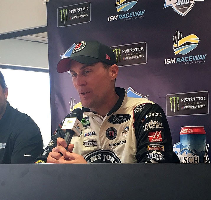Kevin Harvick is the Monster Energy Series points leader – holding a slim 12-point edge over Kyle Busch and Martin Truex Jr., who are tied for second.