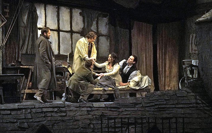 """La Bohème"", the passionate, timeless, and indelible story of love among young artists in Paris, can stake its claim as the world's most popular opera."