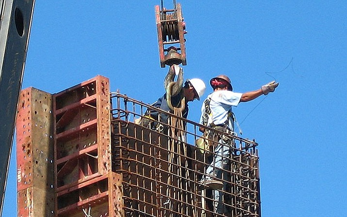 New figures released this week show the number of people working in Arizona's construction industry was 12,100 higher in January than a year earlier. (Bill Jacobus/Creative Commons 2.0 https://goo.gl/7XK5F9)
