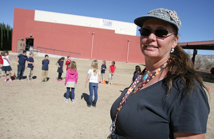 Now in her second year at Camp Verde's American Heritage Academy, Deanell Gregory taught science, health and physical education for the previous nine years in China.