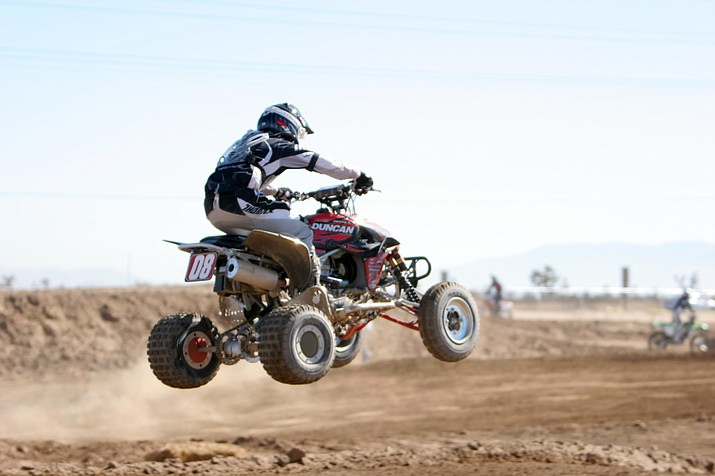 ATVs and side-by-sides are welcome to join the Dolan Springs Trail System volunteer group for a four by four trip to Grapevine Mesa in Meadview.
