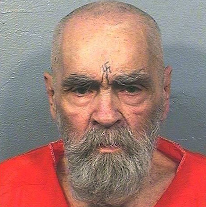 This Aug. 14, 2017, file photo provided by the California Department of Corrections and Rehabilitation shows Charles Manson. A Kern County Superior Court commissioner ruled Monday, March 12, 2018, that Jason Freeman of Florida can collect the remains of Charles Manson from the morgue in Bakersfield, Calif. (California Department of Corrections and Rehabilitation via AP, File)