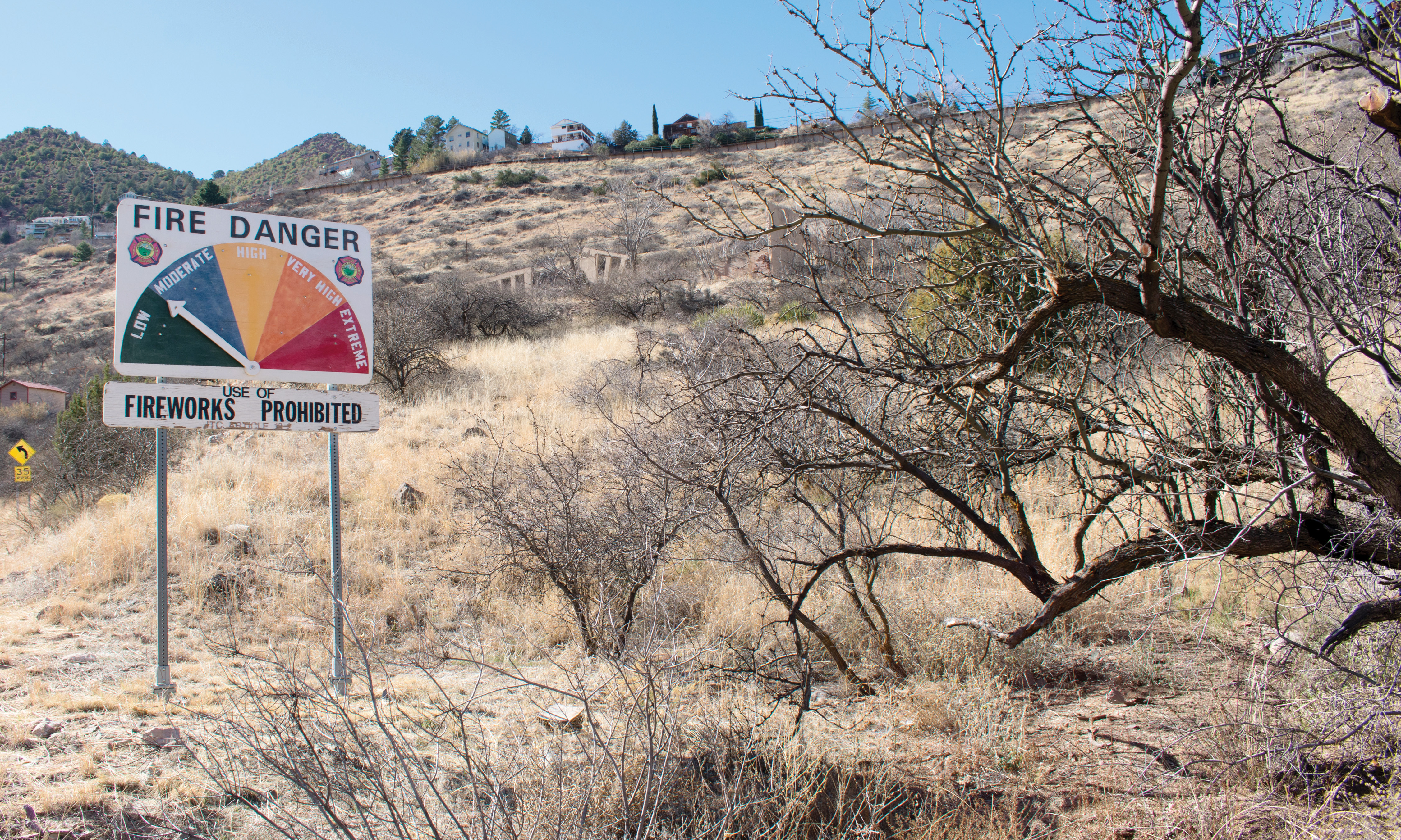 Cottonwood Az Elevation : Lack of precipitation in the verde valley how will fire