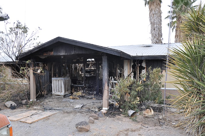 Two people and a dog died in this fire on McConnico Road in Golden Valley on March 4. Susan Lorimer, 54, was pronounced dead at the scene, and her husband, David, 57, died Sunday in the burn unit of University Medical Center in Las Vegas.
