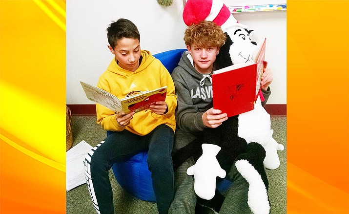 Beaver Creek school teachers recently organized a parent engagement night for families of students who are language learners. The Dr. Seuss-themed event brought parents and teachers together to support strong literacy skills in our students. (Photo courtesy Beaver Creek School District)