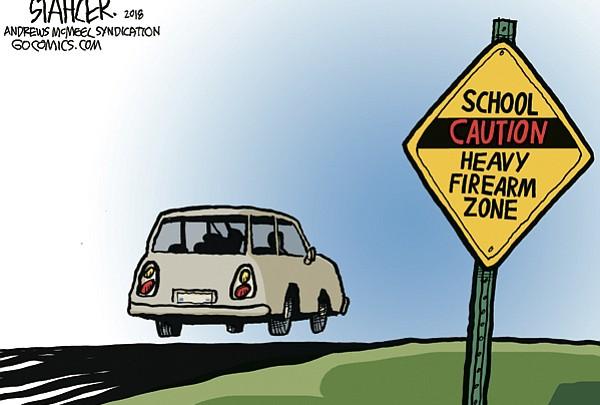 Editorial Cartoon: March 14, 2018