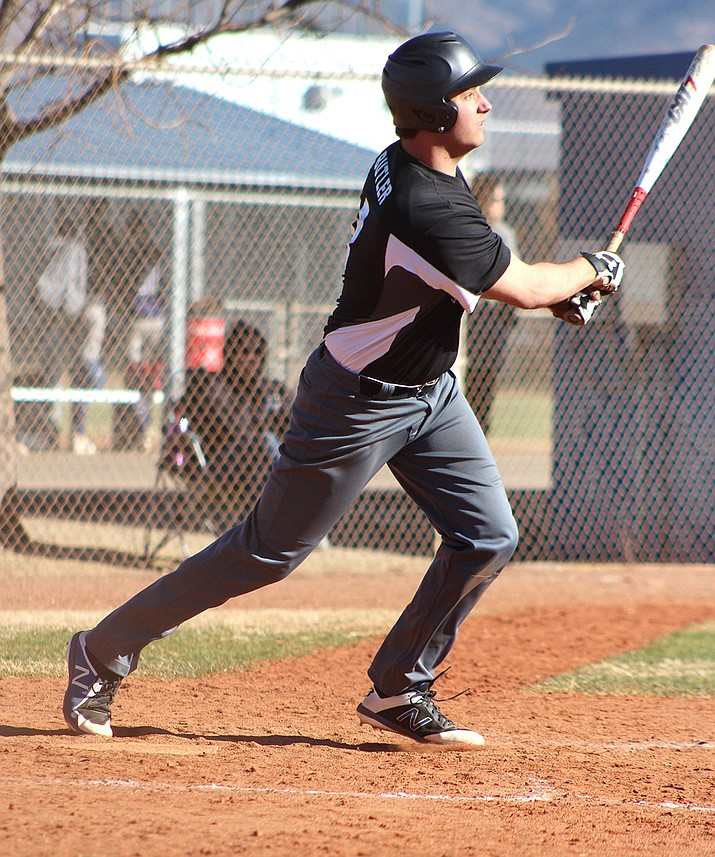 Kingman Academy's Kannon Butler tallied an RBI in a 7-2 loss to Lake Havasu.