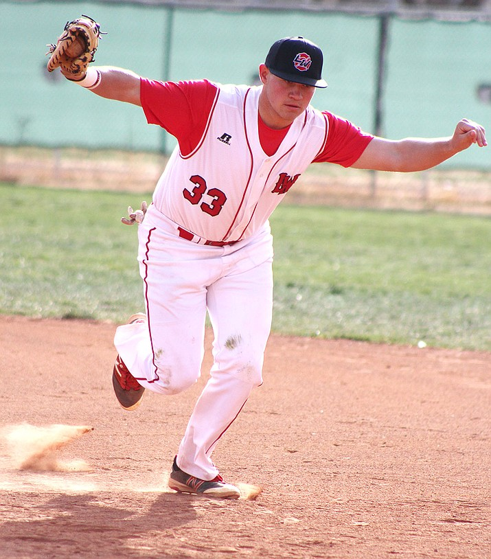 Lee Williams' Matt Bathauer yielded no runs on four hits with eight strikeouts and two walks in a complete-game effort Tuesday against Coconino.