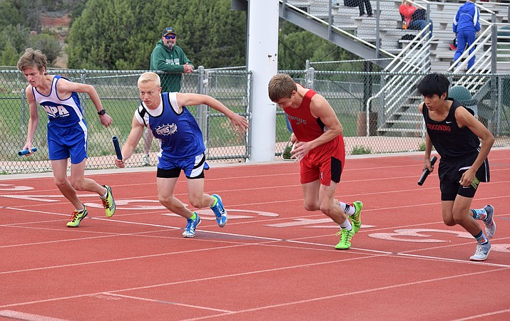 Camp Verde junior Joseph Jones is among the athletes that have impressed CV track and field head coach Mike O'Callaghan in the first three meets of the season.  (VVN/James Kelley)
