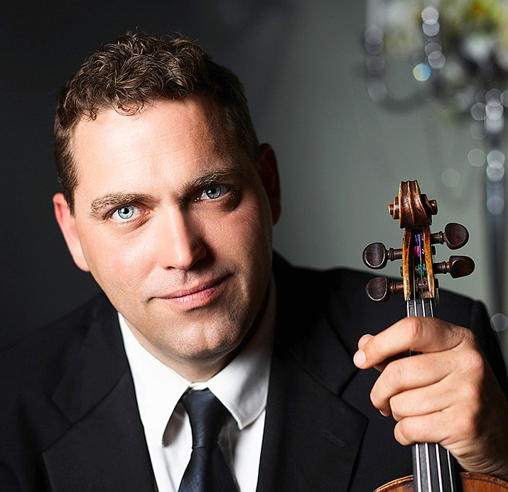 Steven Moeckel will perform a violin solo during Erich Korngold's Violin Concerto at the Phoenix Symphony's concert Sunday, March 18. (Sue Bray/Courtesy)