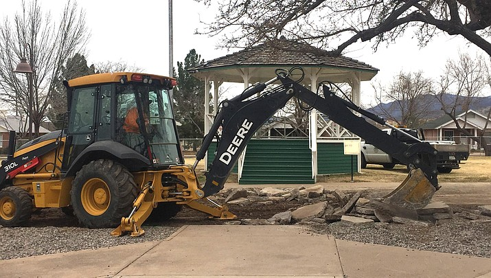 Clarkdale Town Park restoration project underway