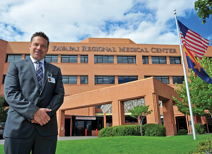 John Amos took over as President and CEO of Yavapai Regional Medical Center in October 2013. Amos first joined YRMC in 1992 as Director of Physical Rehabilitation Services. (Courier, File)
