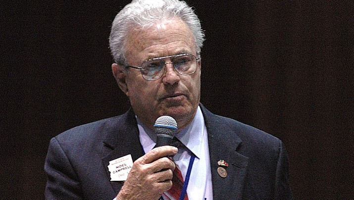 Rep. Noel Campbell takes Democrats to task over student protest over school shootings